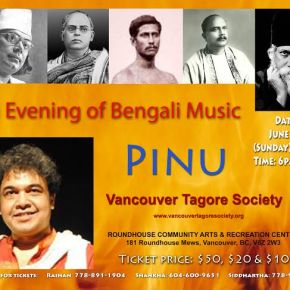 Pinu Sings Five Great Bengali Poet-Composers