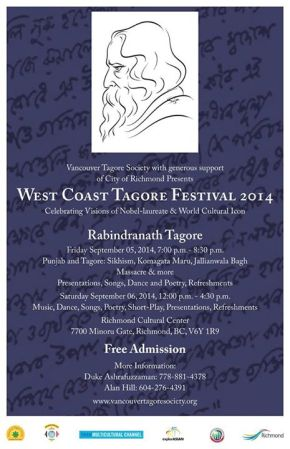 West Coast Tagore Festival 2014