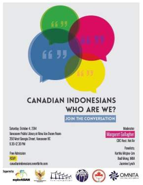 Community Cafe: Canadian Indonesians – Who AreWe?