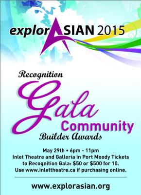 explorASIAN Gala on May 29