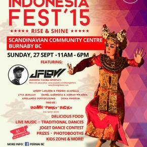 INDONESIA FEST! 2015 — Rise and Shine!