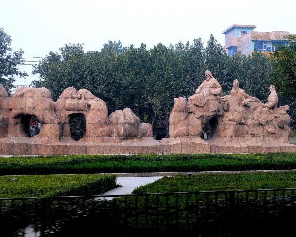 GraceHo - Xian-monument marking beginning of Silk Road755