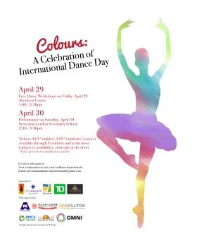 Colours – A Celebration of International Dance Day inRichmond