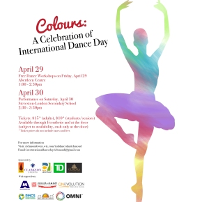 Colours – A Celebration of International Dance Day in Richmond