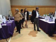 Guests check out the Silent Auction