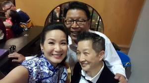 Advisor Bob Sung with Directors Esaine Mo Verney and Candie Tanaka