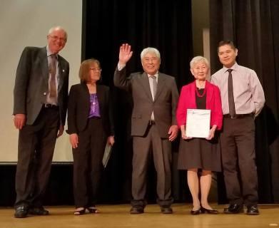 Community Builder Awardees Tosh & Mary Kitagawa