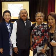 Directors Esaine Mo Verney and Bev Nann with Advisor Raminder Dosanjh and Ujjal Dosanjh