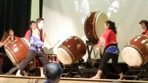 Awesome Taiko drummers