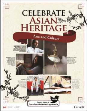 Celebrate Asian Heritage  Arts andCulture
