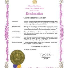 COV Proclamation!