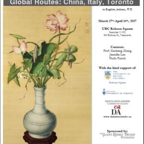 Global Routes: China, Italy, Toronto