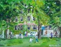 Sylvia Hotel Summer by Mitsuko Fujino