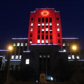 City Hall lighting forexplorASIAN