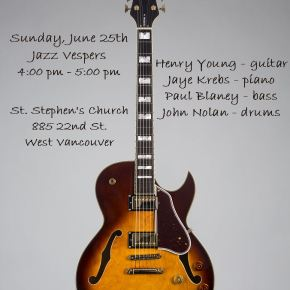 Henry Young Quartet @ St Stephens Church