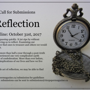Call For Submissions:Reflection