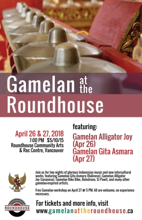 Gamelan at the Roundhouse