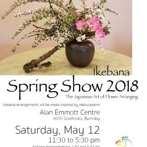 Ikebana Spring Show2018