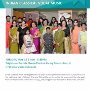 Indian Classical VocalMusic