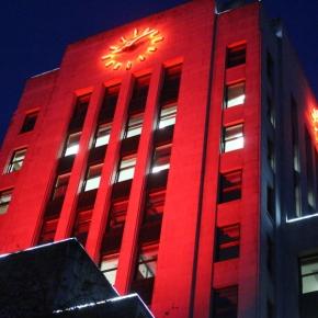 Illumination of Vancouver CityHall