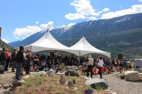 180 visitors attend Lillooet unveiling ceremony