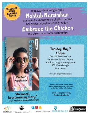Embrace the Chicken, BookLaunch