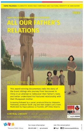 Mixed Flicks: All Our Father's Relations FilmScreening