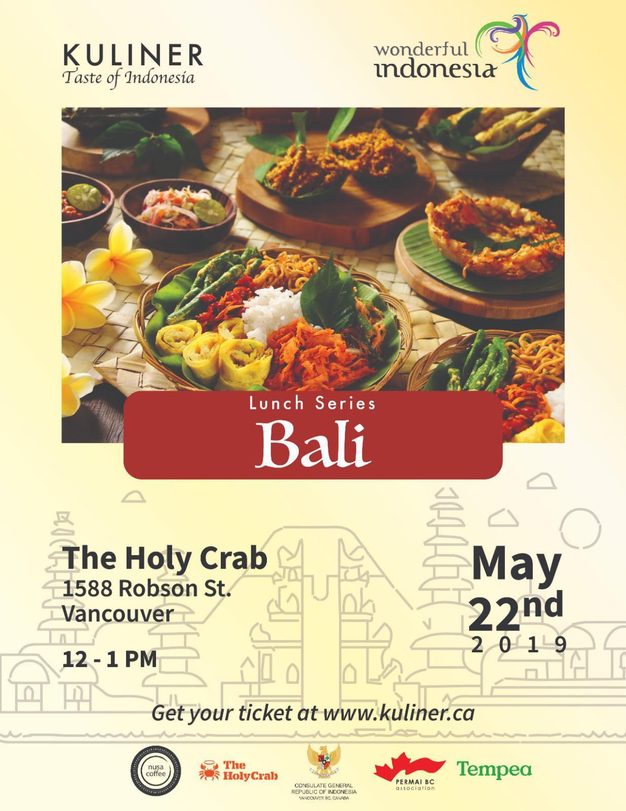 Kuliner Taste Of Indonesia Vancouver Asian Heritage