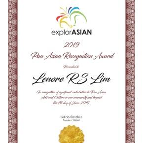 2019 Pan-Asian Recognition AwardWinners